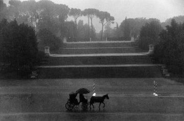 Borghese Gardens, Rome 1958