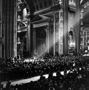 Vatican City, Rome 1950