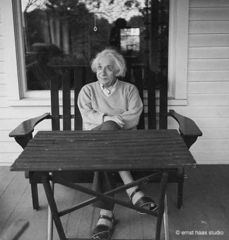 Albert Einstein, Princeton, NJ, 1951