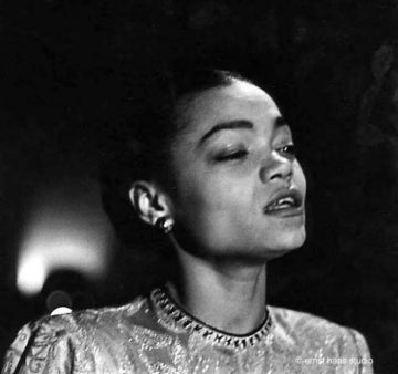 Eartha Kitt, New York, 1952