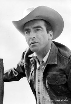 Montgomery Clift, The Misfits, Nevada, 1960