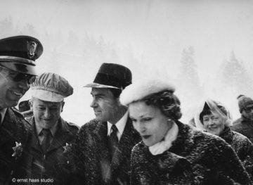 Richard and Pat Nixon, Squaw Valley Winter Olympics
