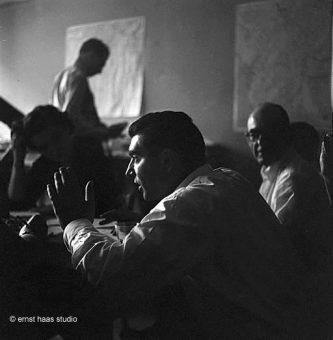 Robert Capa, Magnum Offices, Paris, 1949