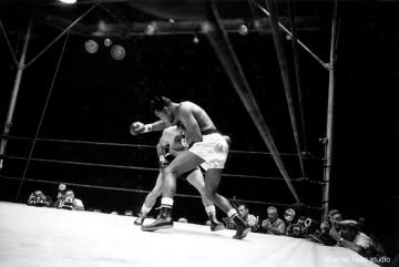 Sugar Ray Robinson vs Carmen Basilio, Madison Square Garden, New York, 1950s