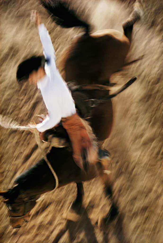 Bronco Rider, California 1957