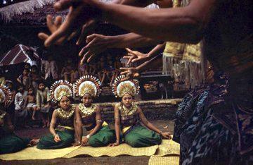 •Dancers, Bali 1956