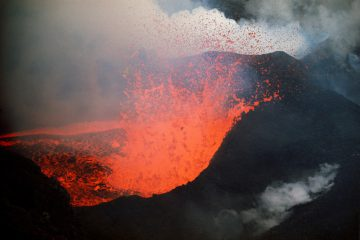 •Surtsey Volcano, Iceland 1965