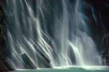 •Kyushu Waterfall, Japan 1981