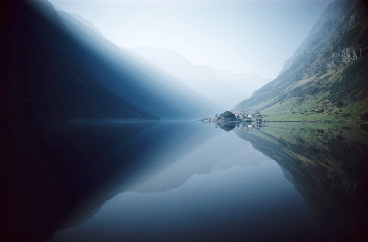Fjord, Norway 1959