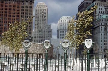 •Binoculars, NY 1952