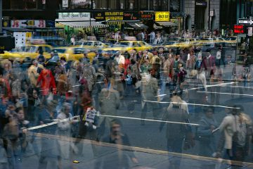 Motion Crosswalk I, NY 1970s