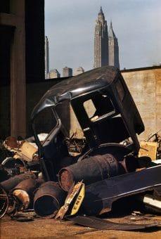 Junkyard, Brooklyn, NY 1952
