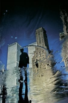 Twin Towers Reflection, NY 1975