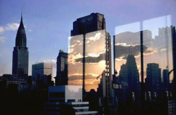 •Clouds & Skyline, NY 1957