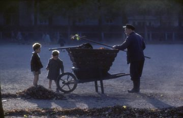 Park Keeper, Paris 1960