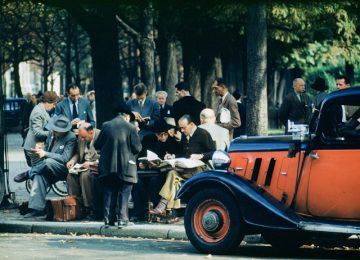 Literary Life, Paris 1955