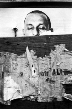 Torn Poster, NY 1966