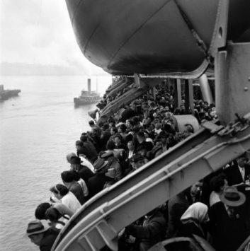 Last D.P. Boat, Ellis Island 1951