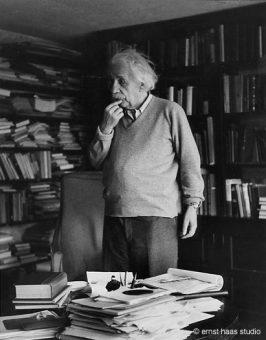 Albert Einstein, Princeton, NJ, 1951