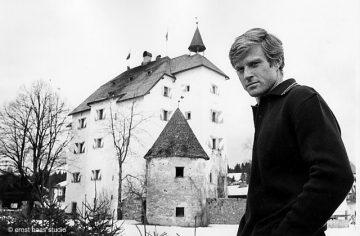 Robert Redford, Downhill Racer, Austria, 1969