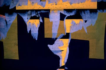 Torn Poster III—Face, NYC 1960