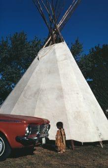 Indian Girl, Washington 1975