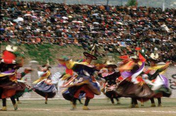 Lama Dancers, Coronation Day, Bhutan 1974