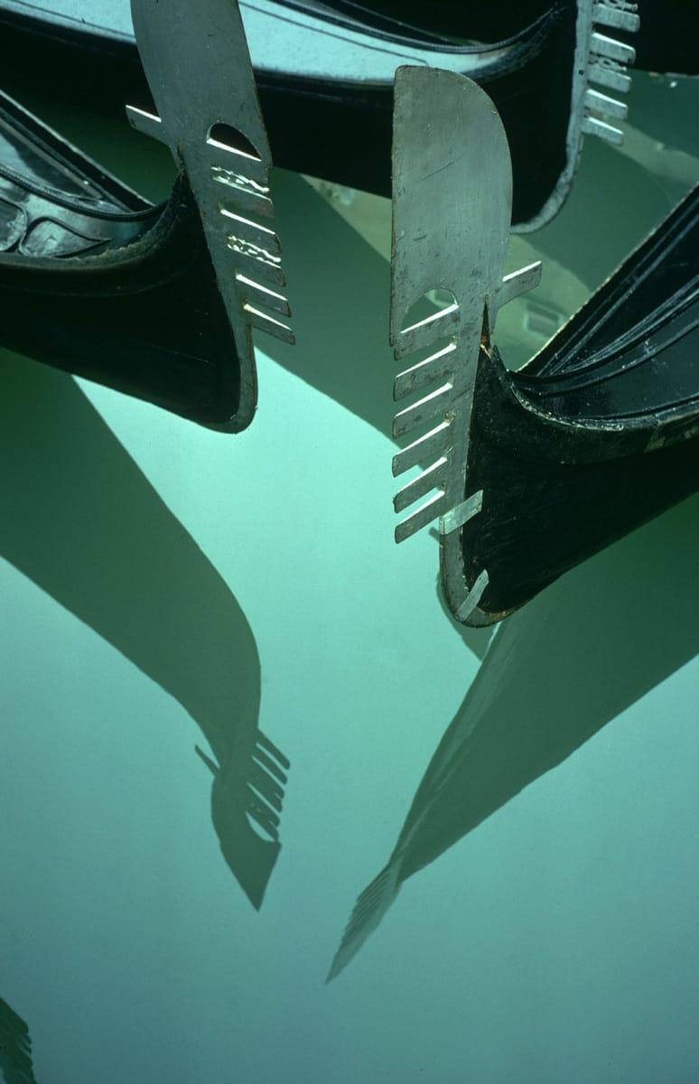 Gondola Reflection, Venice, Italy 1955