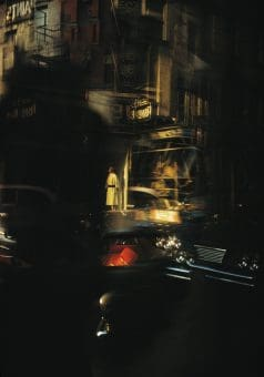 White Coat Reflection, NY 1962