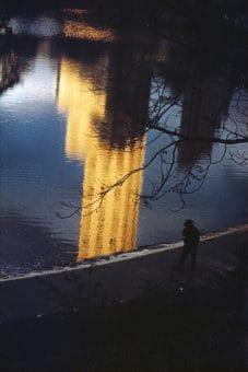 Central Park Reflection, NY 1952