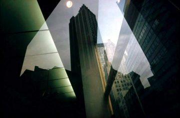 Reflection, Revolving Door, NY 1975