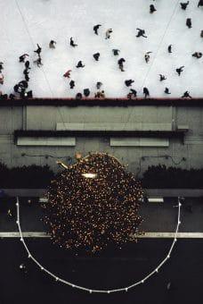 Rockefeller Center Ice Skating Rink, NY 1970s