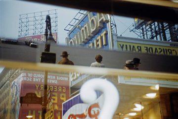 Times Square Reflection, NY 1952